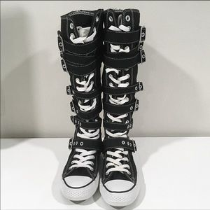 Converse high top buckle ~ laces